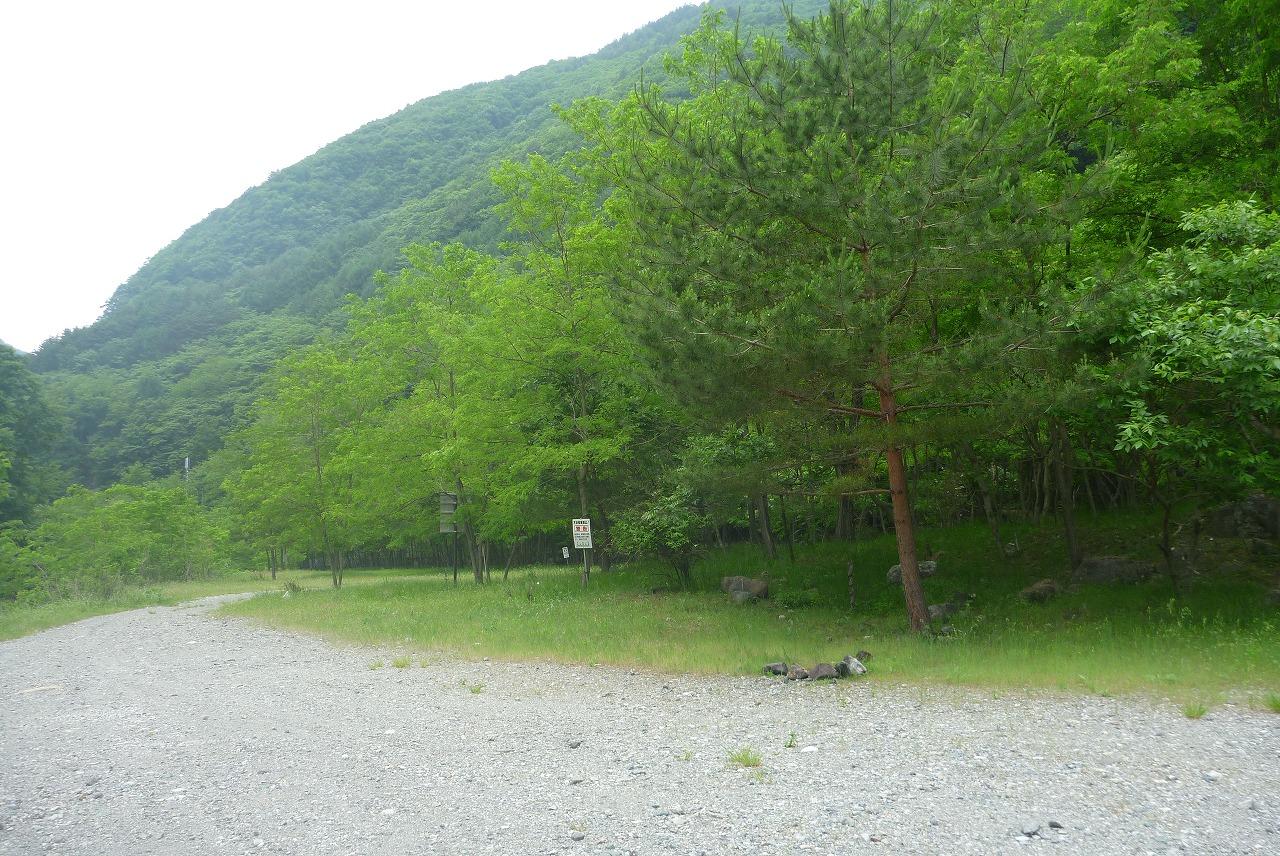 戸台川キャンプサイト