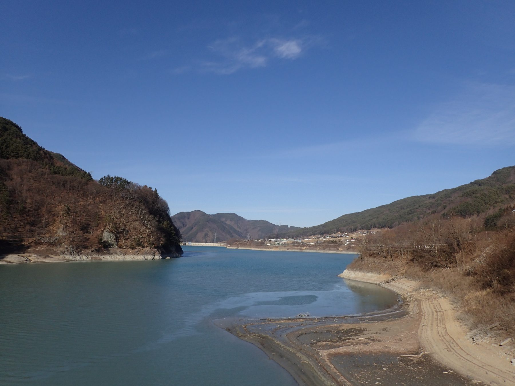 神田橋から見た北側の景色