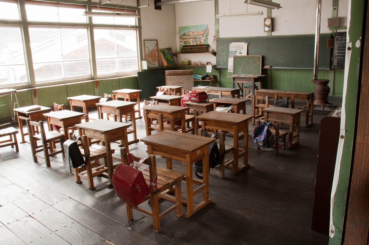 旧木沢小学校 - 教室1