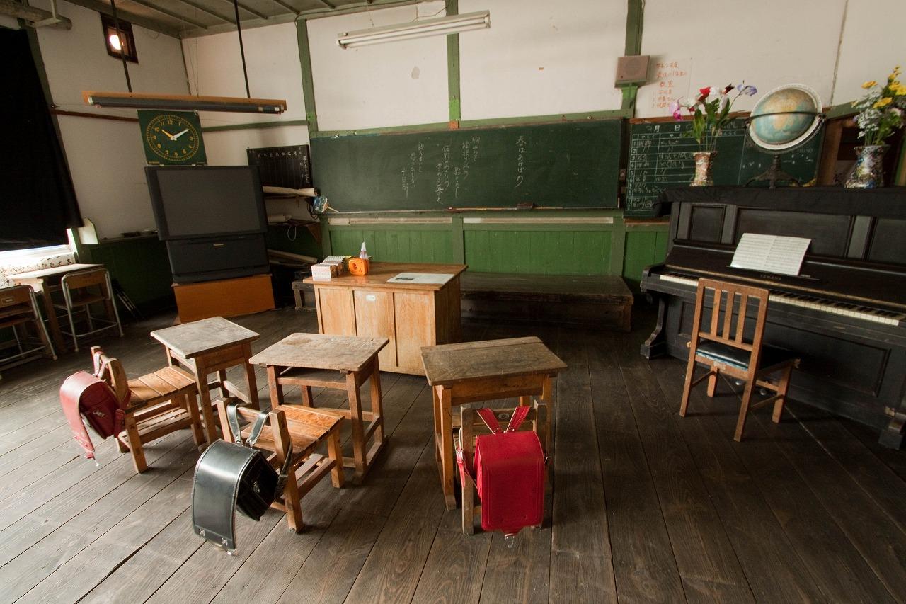 旧木沢小学校 - 教室2