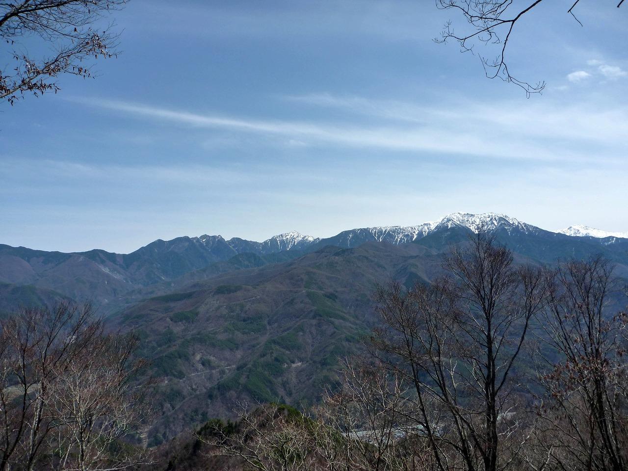 戸倉山 - 東峰からの展望