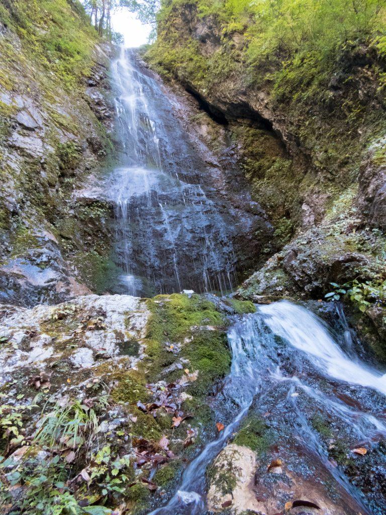 巫女淵の大滝